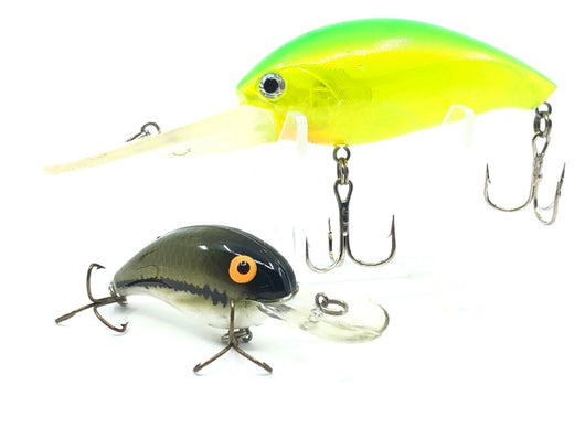 Two Professionally Made Unmarked Crank baits