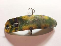 Helin Flatfish S7 Yellow Frog Spot Lure