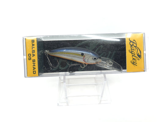 Bagley Balsa Shad 05 BS05-SSD Silver Shad Color New in Box OLD STOCK2