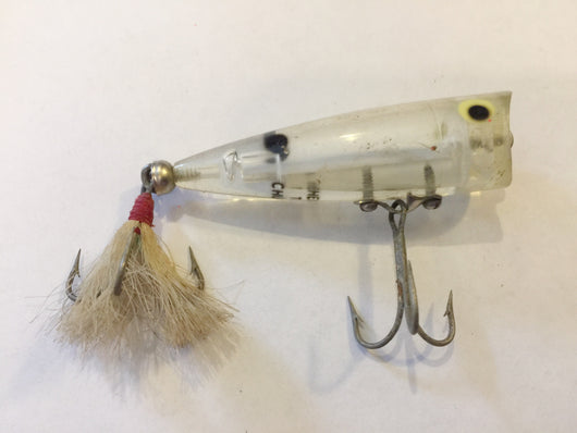 Heddon Tiny Chugger clear color