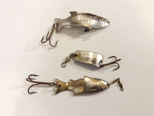 Metal Lot of 3 small Lures