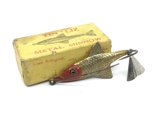 Arbogast Tin Liz Metal Minnow with Box