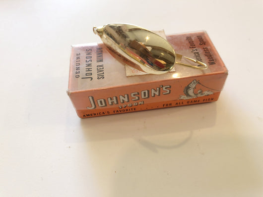 Johnson Gold Minnow Spoon No. 10305 New in Box