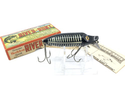 Heddon River Runt Spook Floater Black Shore with Box and Paperwork