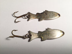 Atlantic Lures Fish Spoons  Lot of Two