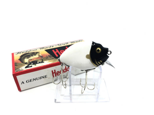 Heddon 9630 2nd Punkinseed X9630BKHG Black Head White Body Gold Color New in Box