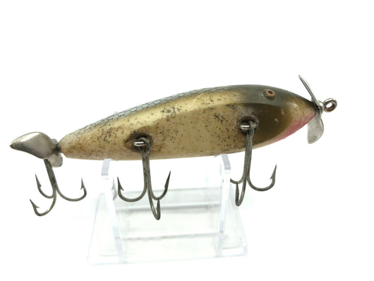 Creek Chub 1500 Injured Minnow in Silver Flash Color 1518 Lure