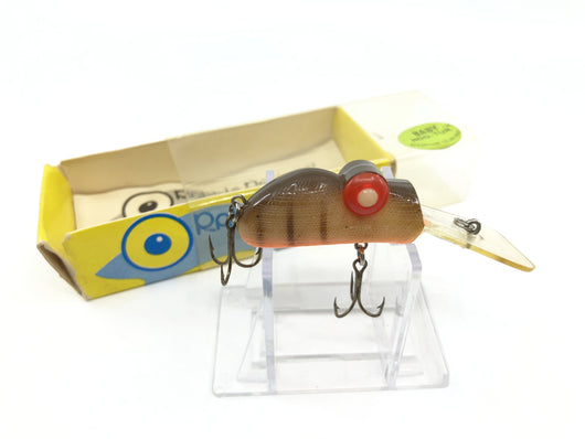 Rabble Rouser Roo-Tur lure in Orange and Brown with Box and Paperwork