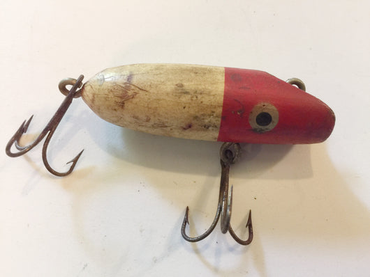 Bass Oreno Type Bait Smaller Red and White
