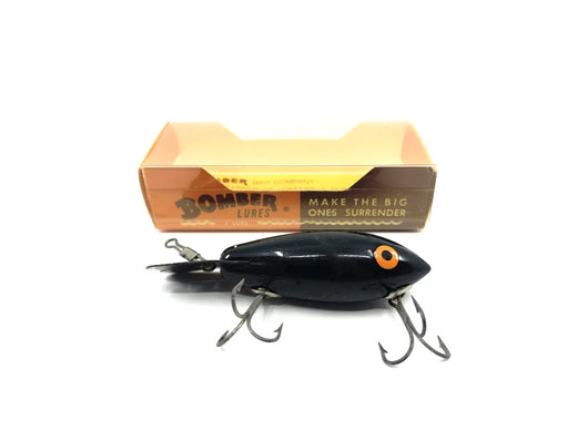 Bomber Wooden 400 Series Color #02 Black with Model A Box
