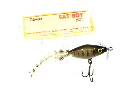 Phillips Fat Boy Lure Feathered Tail with Box