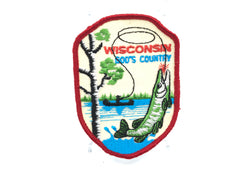 Wisconsin God's Country Musky Fishing Patch