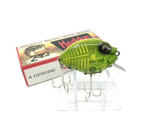 Heddon 9630 2nd Punkinseed X9630XGY Spook Glow Green Yellow Color New in Box