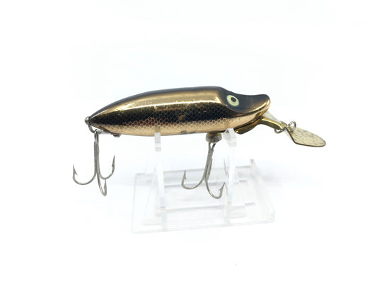 Heddon River Runt Deep Dive Golden Black Shiner Color