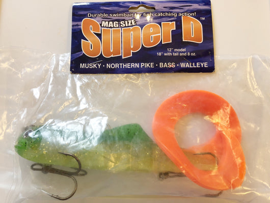 Tackle Industries Mag Size Super D Musky Lure New in Package