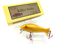 Rusty Jessee Killer Baits Bass Caster Model in Peanut Butter Color 2018