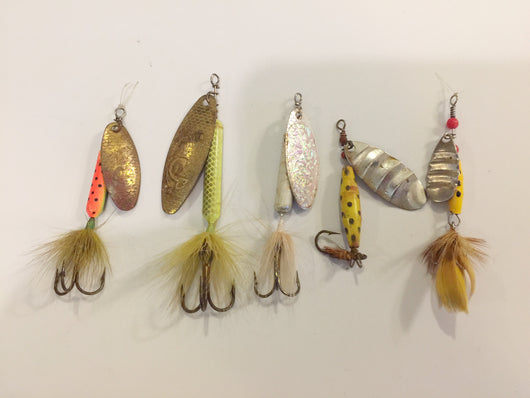 Rooster Tails Grab Bag!  Lot of 5!
