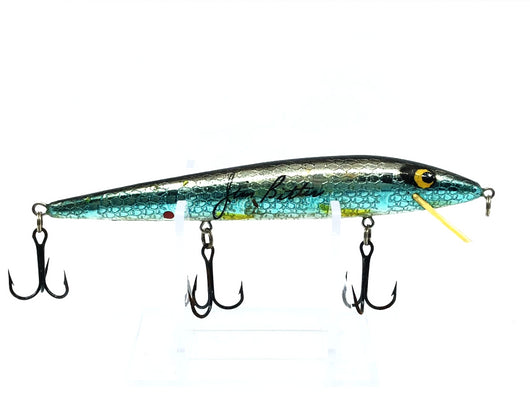 Bassmaster Jim Bitter Rattlin Rogue Blue Chrome Scale