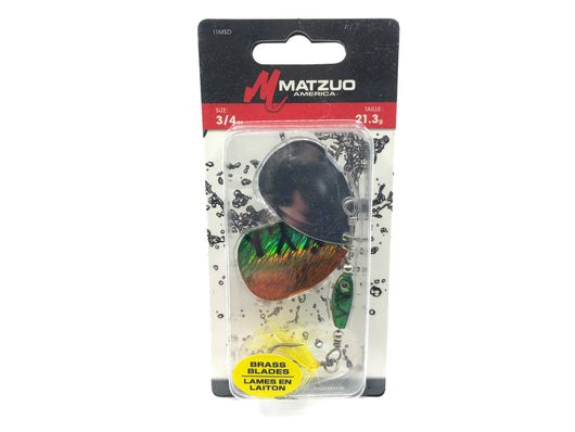 Matzuo Double Shockwave Spinner Bait New on Card FRT Firetiger Color