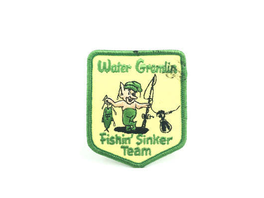 Water Gremlin Fishin' Sinker Team Patch