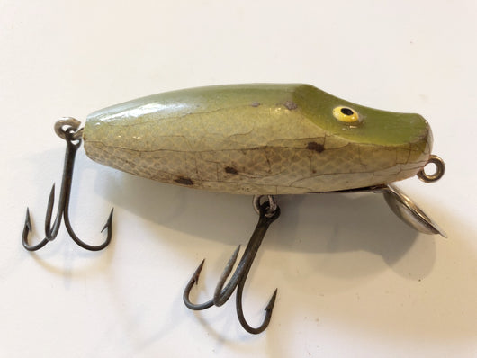 Paw Paw Lippy Joe River Runt Type Lure Olive Color