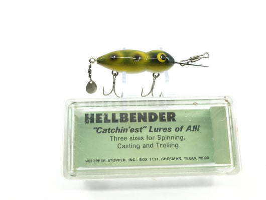 Vintage Whopper Hellbender in Box Frog Color