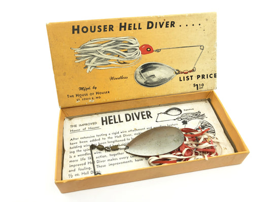 Houser Hell Diver in Two Piece Cardboard Box