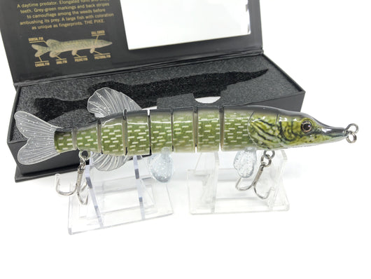 Mother Nature Lure Life Like Swimbait Northern Pike Color New in Box