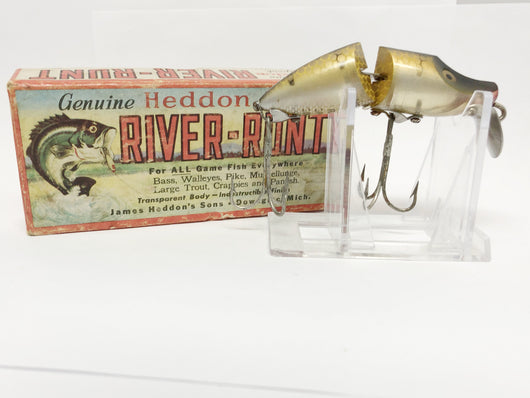 Heddon Pike Scale Jointed River Runt with Box