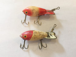 Bomber Lures Lot of 2 Wooden Lures