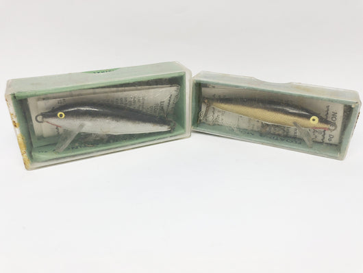 Rapala lot of two in boxes Vintage 7G and CD - 7S