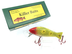 Rusty Jessee Killer Baits Bass Caster Model in Frog Scale Red Head Color 2019