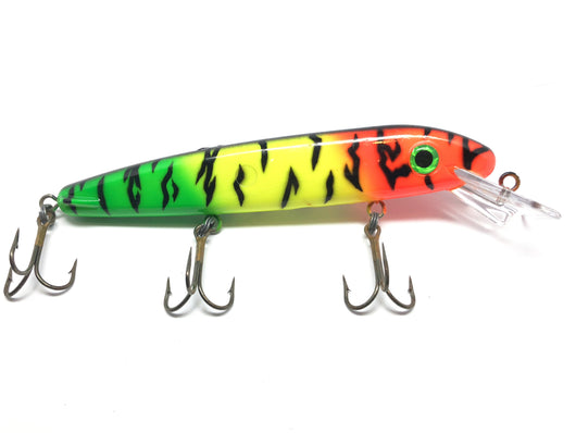 Huge Musky Lure Firetiger Color, Drifter, Jake, Grandma