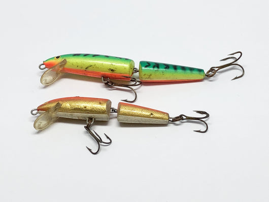Two Rapala Jointed Fishing Lures