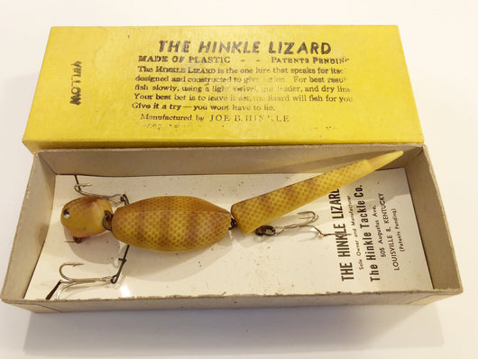 Hinkle Lizard Yellow Color with Correct Box