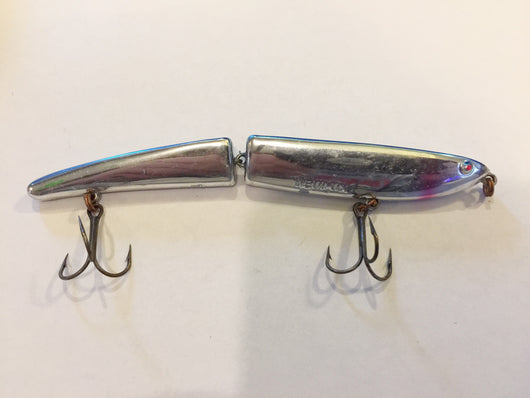 Heddon Zara Gossa Chrome with Blue back