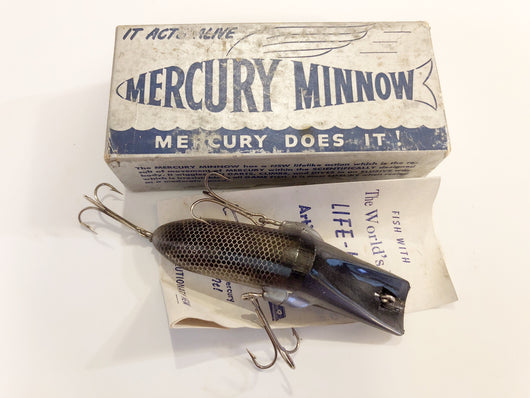 Mercury Minnow New in Box 10 Black Color