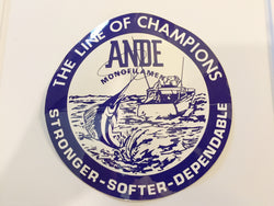 Ande Monofilament Sticker / Decal