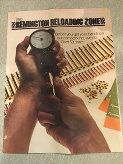 Remington Reloading Zone 1980 Catalog