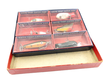 Vintage Shakespeare Spinning Assortment 6300 A Six Baits New in Box