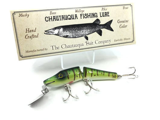 Chautauqua Jointed Piko Plug Custom Yellow Perch 2020 Color