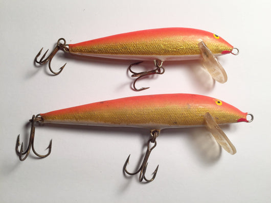 Rapala Countdowns Vintage Orange Gold Color