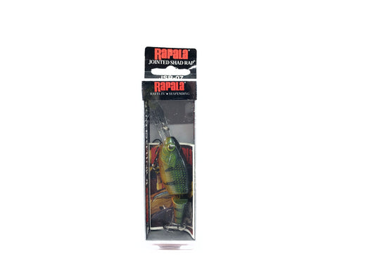 Rapala Jointed Shad Rap JSR-7 P Perch Color New in Box Old Stock