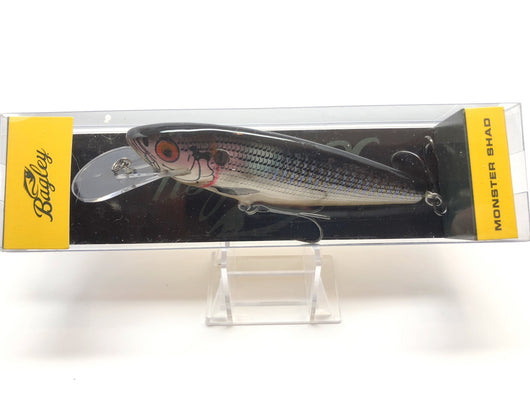 Bagley Monster Shad MSD-BGL Bluegill / Shad Color New in Box OLD STOCK