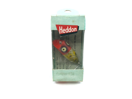 Heddon Tiny Lucky 13 370 JRH Frog Scale Red Head Color with Box