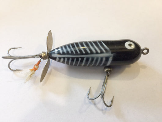 Heddon Baby Torpedo Black Shore Color