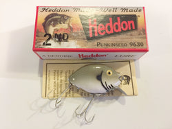 Heddon 9630 2nd Punkinseed GCB Green Crackleback Color New in Box