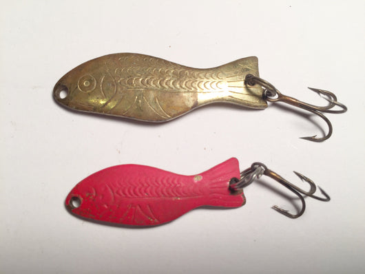 Al's Goldfish Lures Lot of 2