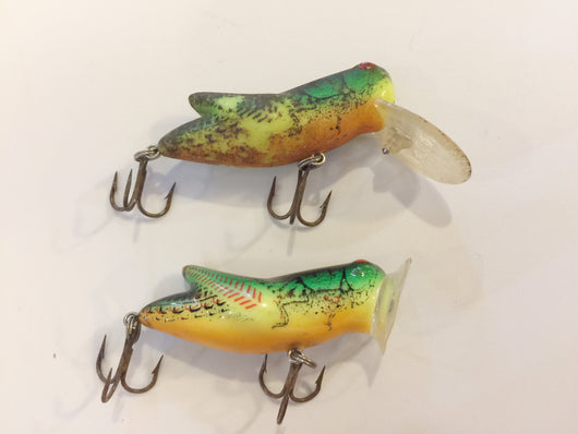 Rebel Grasshopper Baits - Lot of 2