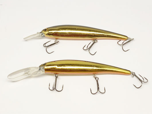 Two Large Unmarked Gold Lures